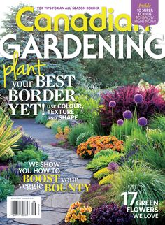 Plant your best border yet! Use colour, texture and shape; 10 super foods to grow right now; we show you how to boost your veggie bounty; 17 green flowers we love and more! Green Flowers, Our Love, Summer 2014, Super Foods, Gardening, Shapes, Seasons, Texture, Plants