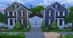 Simplicity sims: Gemelli Duplex • Sims 4 Downloads