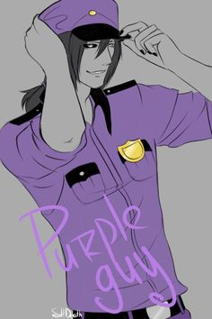 Purple guy by Soft-Death on DeviantArt Five Nights At Freddy's, Dbz, My Little Pony, Vincent Fnaf, Fnaf Security Guards, Fnaf Night Guards, Scary Games, Yaoi Hard, Fnaf Wallpapers