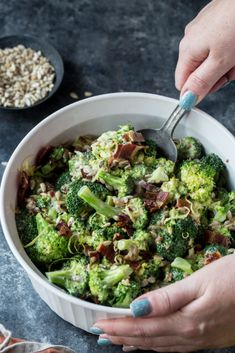 Keto Broccoli Salad - KetoConnect