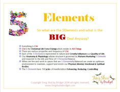 """Feng Shui by Bridget's """"What are the 5 Elements and what is the Big Deal Anyway?"""" Follow me on Facebook for your Daily Inspirations to Get Your Groove On. Mind, Body, Spirit, Home. https://www.facebook.com/ZenSolutionsbyBridget"""