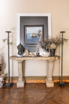 Step Into the Eclectic Home of Antique Dealers Ollivier and Gladys Chenel - TEFAF Paris Home, French Collection, Natural Curiosities, Goddess Of Love, Art World, Antique Dealers, Entryway Tables, Home And Family, Furniture Design