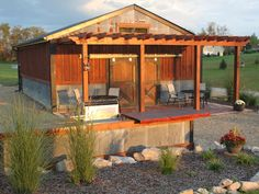 The Recycled Barn Project.  How we built our barn from recycled materials on a shoestring budget.
