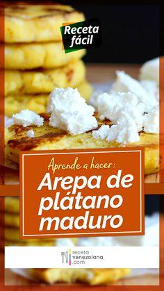 My Recipes, Mexican Food Recipes, Healthy Recipes, Venezuelan Food, Puerto Rican Recipes, Fun Cooking, Empanadas, Sin Gluten, Nom Nom