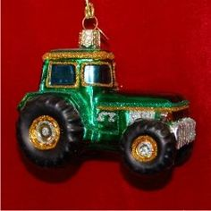 Tractor - Personalized Family Christmas Ornament