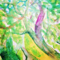 #janzsoart #aquarell #art #details Watermelon, Fruit, Painting, Watercolor Painting, Painting Art, Paintings, Painted Canvas, Drawings