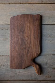 371. Handmade Black Walnut Wood Cutting Board by Linwood