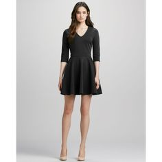 Diane von Furstenberg Jeannie Fit-and-Flare Dress   My favorite. Dress it up or down. It's perfect.