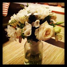 Jo's beautiful wedding bouquet.