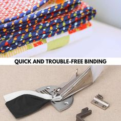 Diy Sewing Projects, Sewing Tools, Sewing Crafts, Sewing Ideas, Sewing Machine Quilting, Bias Tape Maker, Or Mat, Blanket Stitch, Sewing Tips