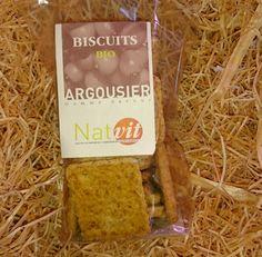 Biscuits à l'argousier bio 170g