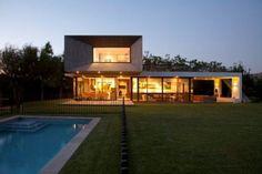 Vivienda Modular de hormigon Cofre House en Chile