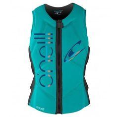 O'Neill Women's Slasher Comp Life Vest - Aqua
