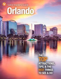 Don't spend your whole Orlando vacation inside Disney World. These great day trips will show you the real Florida and give you a break from theme park overload Orlando Florida, Orlando Skyline, Downtown Orlando, Orlando Vacation, Florida Usa, Orlando City, Central Florida, Orlando Disneyworld, Visit Orlando