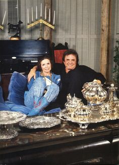 Johnny & June at home (late 1980's)