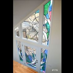 116 best Contemporary stained glass images on Pinterest Windows