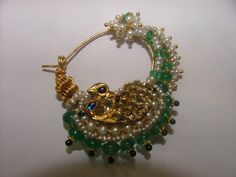 Indian Jewelry Sets, Bridal Jewelry Sets, Bridal Jewellery, Nose Ring Jewelry, Nose Rings, Bridal Nose Ring, Rajputi Jewellery, Jewellery Sketches, Gold Jewellery Design