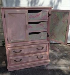 From drap to beautiful shabby pink