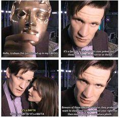 Wow, Doctor. Wow.