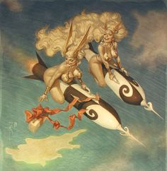 Collection of Aviation Pin Up and Nose Art copyrights belong to their respective owners. These are images I've found publicly accessible while browsing the Internet, unless otherwise stated. Arte Sci Fi, Sci Fi Art, Illustrations, Illustration Art, Dc Vibe, Art Cyberpunk, Science Fiction Art, Nose Art, Pulp Art