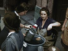 Polish insurgents during 1944 Warsaw Uprising. Stills from non-fiction film 'Powstanie Warszawskie' made entirely from colourized documentary materials of original chronicles filmed in Poland Ww2, Patriotic Poems, Refugees, Warsaw Uprising, American Air, Today In History, Aesthetic Women, Army Soldier, Red Army
