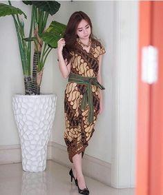Blouse Batik, Blouse Dress, Silk Dress, Model Dress Batik, Batik Dress, Batik Fashion, Hijab Fashion, Fashion Dresses, Bolero Pattern