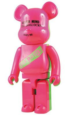 Le bearbrick Sex Pistols