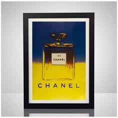 Andy Warhol X Chanel Nr. 5 11 x 17 Poster Print von lgndrylabel