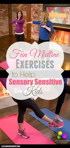 awesome We have some fun ideas for your sensory sensitive kids - Integrated Learning Strategies Gross Motor Activities, Movement Activities, Gross Motor Skills, Sensory Activities, Therapy Activities, Sensory Play, Sensory Integration Therapy, Sensory Therapy, Sensory Motor