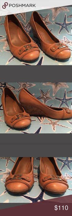 Tory Burch Tan Cork Wedges Tory Burch Tan Cork Wedges Tory Burch Shoes Wedges