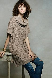 Bryson Cowl Poncho StitchFix: Love the color and cowl neck.