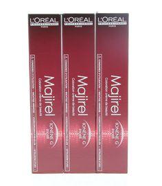 L'Oréal Professionnel Majirel Haarverf 6.34 50ml L'Oréal Professionnel Majirel. Deze crèmekleuring bevat Ionen G Incell wat het haar verzorgt versterkt en beschermt van binnenuit. Maakt het haar zachter en makkelijk doorkambaar. Deze kleurcreatie heeft een perfecte grijsdekking en een krachtige diepe intense kleur. Gegarandeerd langhoudbare kleur. EUR 9.25 Meer informatie