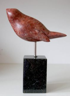 Bird Sculpture, Stone Sculpture, New Project Ideas, Marble Stones, Soapstone, Stone Carving, Bird Art, Artsy Fartsy, Clay