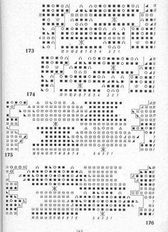 Koronka estońska listki schemat
