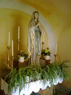 in der Kapelle Rosary Beads