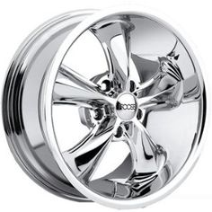 Foose Legend 18x7 Chrome Wheel / Rim 5x4.75 with a 1mm Offset and a 72.60 Hub Bore. Partnumber F10587063 - Custom wheels by Chip Foose