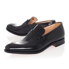 CHURCH'S MEN'S LEATHER LOAFERS Mens Leather Loafers, Loafers Men, Men's Leather, Oxford Shoes, Dress Shoes, Stuff To Buy, Shopping, Art Deco, Design