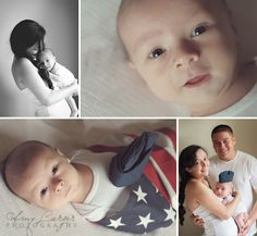 Military baby. 6 weeks old. Photography Inspiration. Air Force.