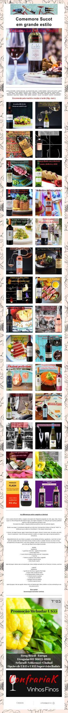 Comemore Sucot em grande estilo Mouton Cadet, Laurent Perrier, Grande, Wine Pairings, Style