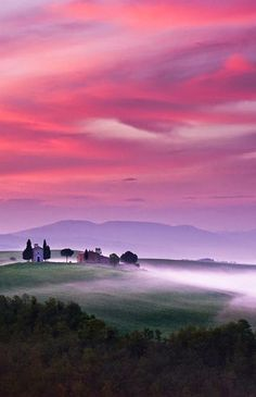 Burning Skies by Dennis Fischer (Tuscany, Italy)
