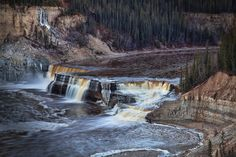 Louise Falls, Northwest Territories, Canada
