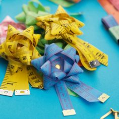 » Rustle up a rosette from an old tape measure | Boden Bits & Blogs