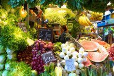 Malaga's Atarazanas market - lush spring produce