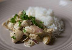 Kyllingfilet med Estragon og Crème Fraîche