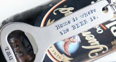 Personalized Bottle Opener Keychain by River Valley Designs | Hatch.co