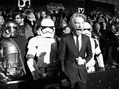 Star Wars: The Force Awakens Premiere - Domnhall Gleeson (General Hux) - This actor is AMAZING