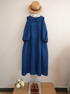 Girl Fashion, Fashion Dresses, Dress Up, Shirt Dress, African Design, Mori Girl, Linen Dresses, Korean Fashion, What To Wear