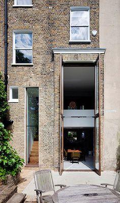 double-decker window/doors.  desire to inspire - desiretoinspire.net - David Mikhail Architectsupdate
