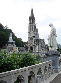 Our Lady of Lourdes, Frances