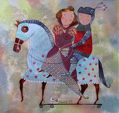 Отважный рыцарь и прекрасная дама
